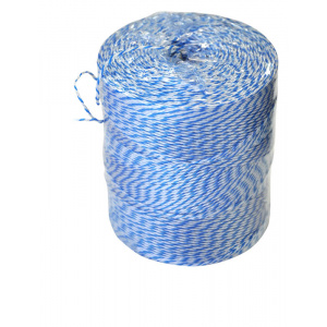 Butchers Twine Blue & White Polyester - 560m Roll-0