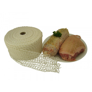Meat Wrap - White 125mm - 50m Roll-0