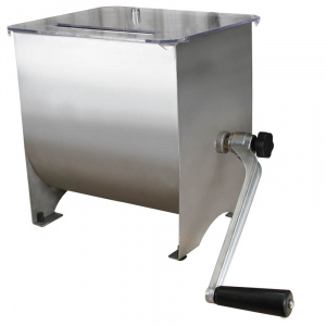 Meat Mixer 9kg (16L) - Stainless Steel-0
