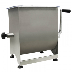 Meat Mixer 20 kg (30L) - Stainless Steel-0