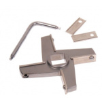 # 42/52 LICO Mincer Knife - 4 Wing Insert Holder with Exchangeable Blades & Key-0