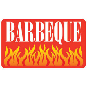 Meat Display Label - Barbeque Roll of 500-0