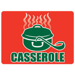 Meat Display Label - Casserole Roll of 500-0