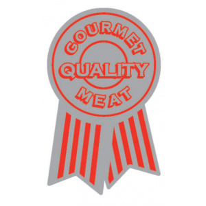 Meat Display Label - Gourmet Quality Meat Roll of 500-0