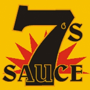 7's Sauce - Glass Bottle with Pourer 250ml-5450